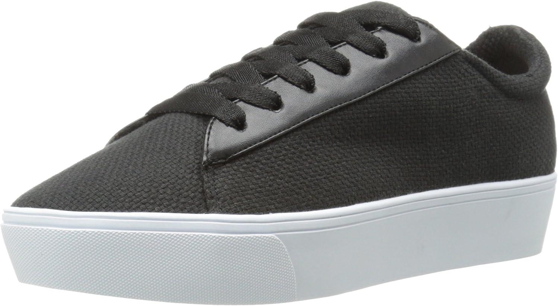 Nine West Women's Hearmeout Leather Fashion Sneaker Black