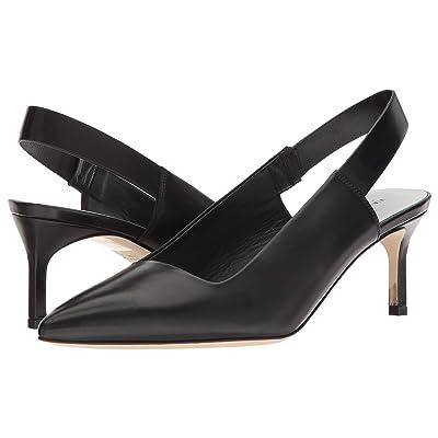 Via Spiga Blake (Black/Black Strap Leather) High Heels