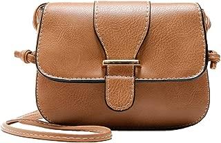 Mini Women Cross Body Shoulder Bags Fashionable Casual Handbags Leather Bag for Teen Girls W by TOPUNDER