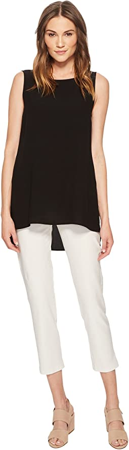Eileen Fisher - Slim Ankle Pants in Washable Stretch Crepe