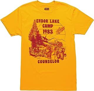 Star Wars Endor Lake Camp Counselor Adult T-Shirt