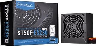 SilverStone SST-ST50F-ES230 v 2.0 - Serie Strider Essential, 500W 80 Plus 230V EU ATX PC Fuente de alimentación, Baja sonoridad 120mm