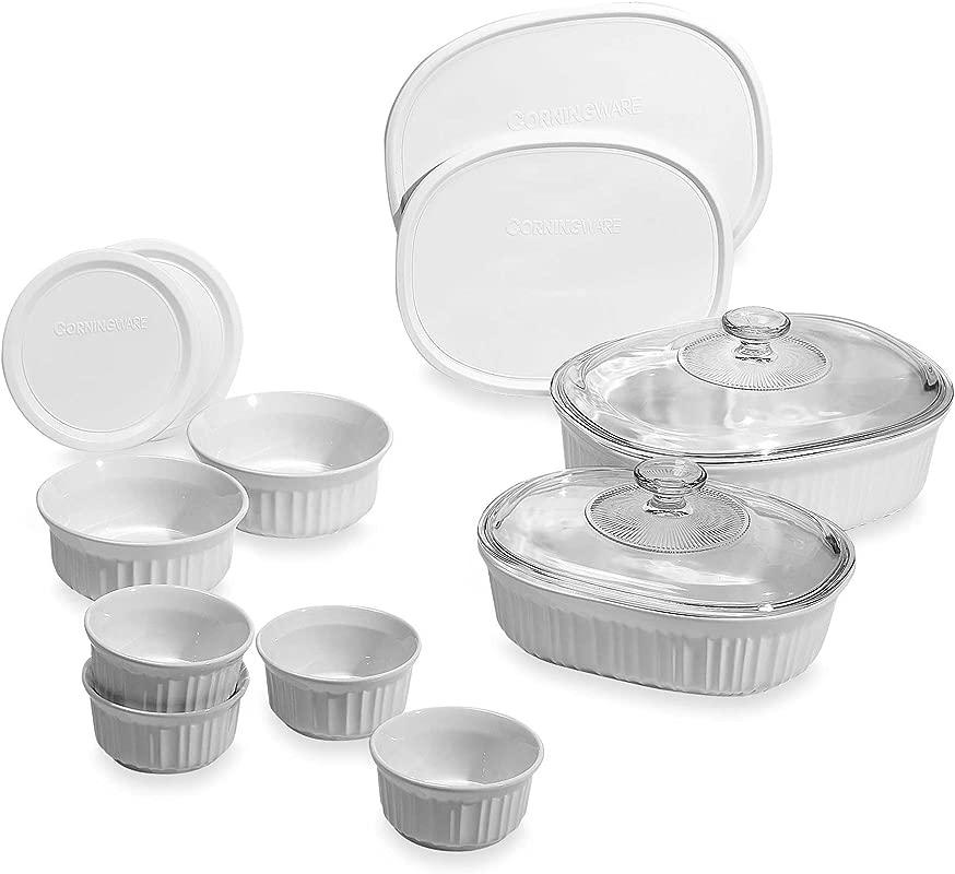 14 Piece Chip And Crack Resistant Bakeware Set