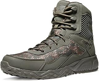 [CQR] 軽量 ミリタリーブーツ [ミドルカット・耐久性・通気性] アウトドア サバゲー 登山 日常着用 安全靴 キャンプ ライダー ブーツ