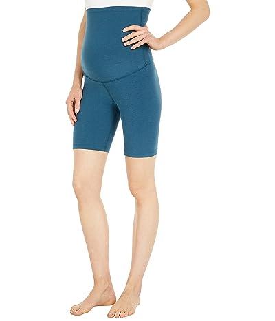 Beyond Yoga Maternity Spacedye Empire Waisted Biker Shorts
