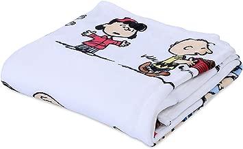 Berkshire Blanket Peanuts VelvetLoft Cute Character Plush Throw