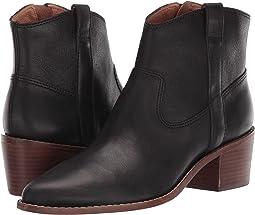 True Black Leather