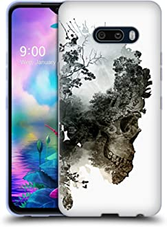 Official Motorhead American Skull Graphics Soft Gel Case Compatible for Nokia 7.2