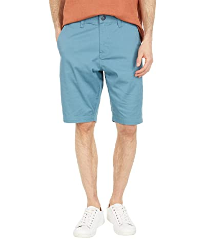 Volcom Frickin Modern Stretch Chino Shorts (Hydro Blue) Men