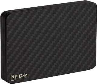 Magwallet,Minimalist Slim Carbon Fiber Modular Card Holder RFID Blocking Wallet-Matte Finish/Twill