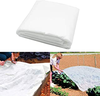 Alpurple Winter Plant Covers Freeze Protection -Warm Rectangle Plant Protection Cover, Frost Cloth Blanket Protecting Frui...