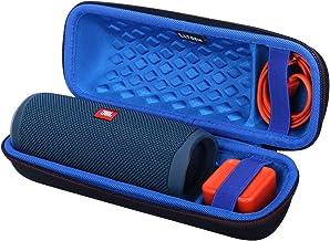 LTGEM EVA Hard Carrying Case for JBL FLIP 5 Waterproof Portable Bluetooth Speaker - Blue
