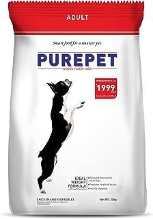 Purepet Adult Dog Food, Chicken and Vegetable, 20 kg