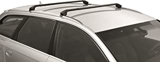 Multi-Fit Roof Rack for Flush Railings/Modula Cross Bars (Black)