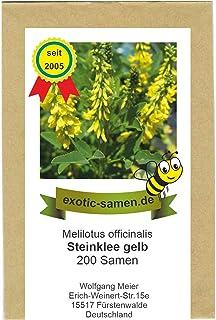 Melilotus albus Bokharaklee Steinklee 25 kg gelbbühend Klee Einzelsaat