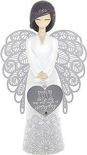 Figura Decorativa dise/ño de /ángel de la Mina More Than Words 9610