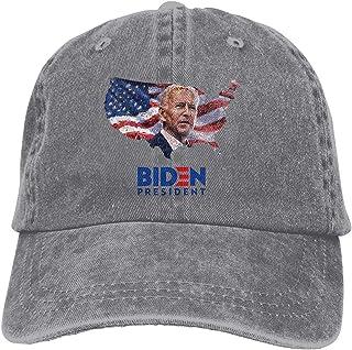 jkhhy Biden President Black Unisex Baseball Cap Adjustable Comfortable Cap Vitage Hat