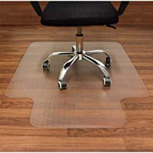 AiBOB Office Chair mat for Hardwood Floor, 36 x 48 inches, Easy Glide for Chairs, Flat..