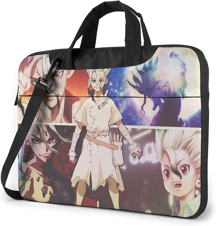 Dr Stone Canvas Laptop Shoulder Messenger Computer Handle Ba Austin Mall Bag Cheap super special price