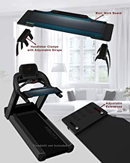 DigitalArts.ws Walk with Me Pro-XT Plus - Expandable Treadmill Desk Attachment