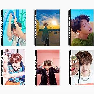 6 Pack/180 Pcs BTS J-HOPE Lomo Card KPOP Bangtan Boys Photocards Greeting Card with Postcards Box