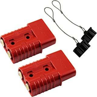 HYCLAT 2-4 Gauge Battery Quick Connect/Disconnect Wire Harness Plug Connector Recovery Winch Trailer