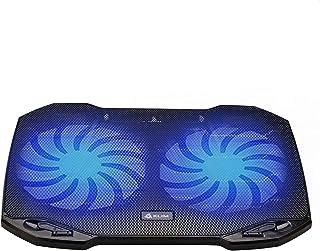 KLIM Pro - Refroidisseur pour Professionnels - Ventilateur Support PC Portable - Ventilo Transportable - 10 à 15,6 Pouces...