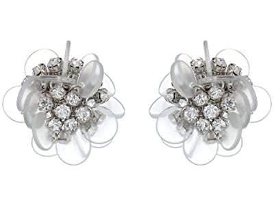 Kate Spade New York Blooming Bouquet Studs Earrings (Clear Multi) Earring