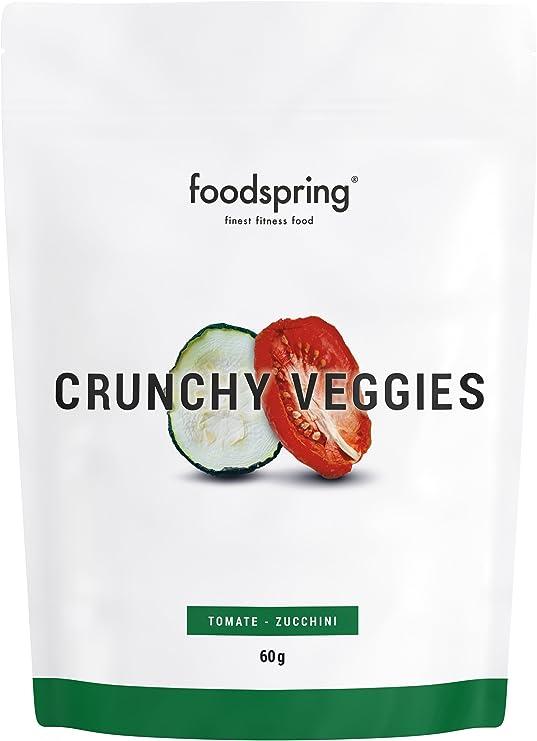 foodspring Crunchy Fruits, Orgánica Plátano-aguaymanto, 60g, La revolución de las frutas deshidratadas: Amazon.es: Alimentación y bebidas