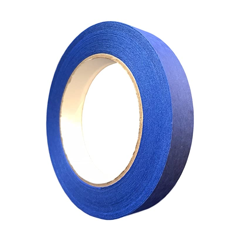 Protak Masking Tape PTBM1, Blue Painters Grade 14 Day Tape, 60 Yards, 1 Roll (3/4