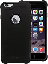 CELLBELL Back Case Cover Compatible with iPhone 6 Plus(Midnight Black)