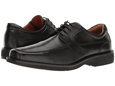 ECCO Seattle Tie (Black Cow Leather) Men