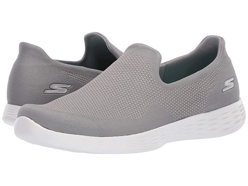 SKECHERS Performance You Define Blithe (Gray) Women's Shoes