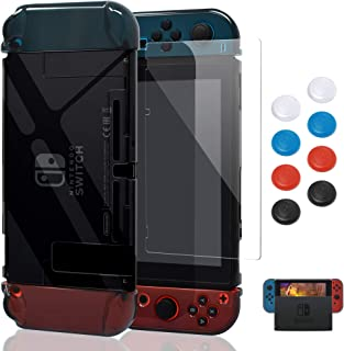 Case for Nintendo Switch,Fit The Dock Station, Protective Accessories Cover Case for Nintendo Switch and Joy-Con Controlle...