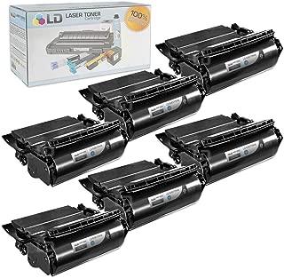LD Compatible Lexmark 64015HA Set of 6 Black Laser Toner Cartridges for The T644tn, T642dtn, T640, T642tn, T640dtn, T644dn, T640tn, T644n, T642dn, T642n, T640dn, T644, T640n, T644dtn, T642 Printers