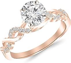 Best 14 carat gold diamond ring price Reviews