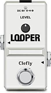 Clefly Nano Guitar Looper Pedal Loop Pedal for Electric...
