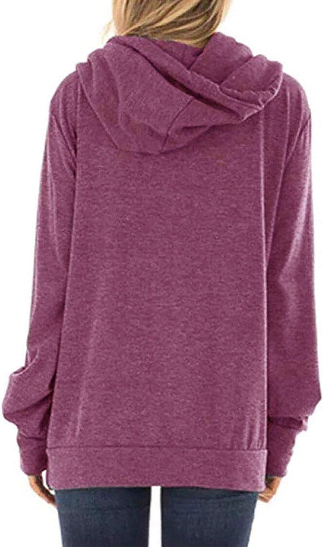 Jhsnjnr Womens Mama Bear Printed Long Sleeve Drawstring Hooded Sweatshirt Pullover Hoodie