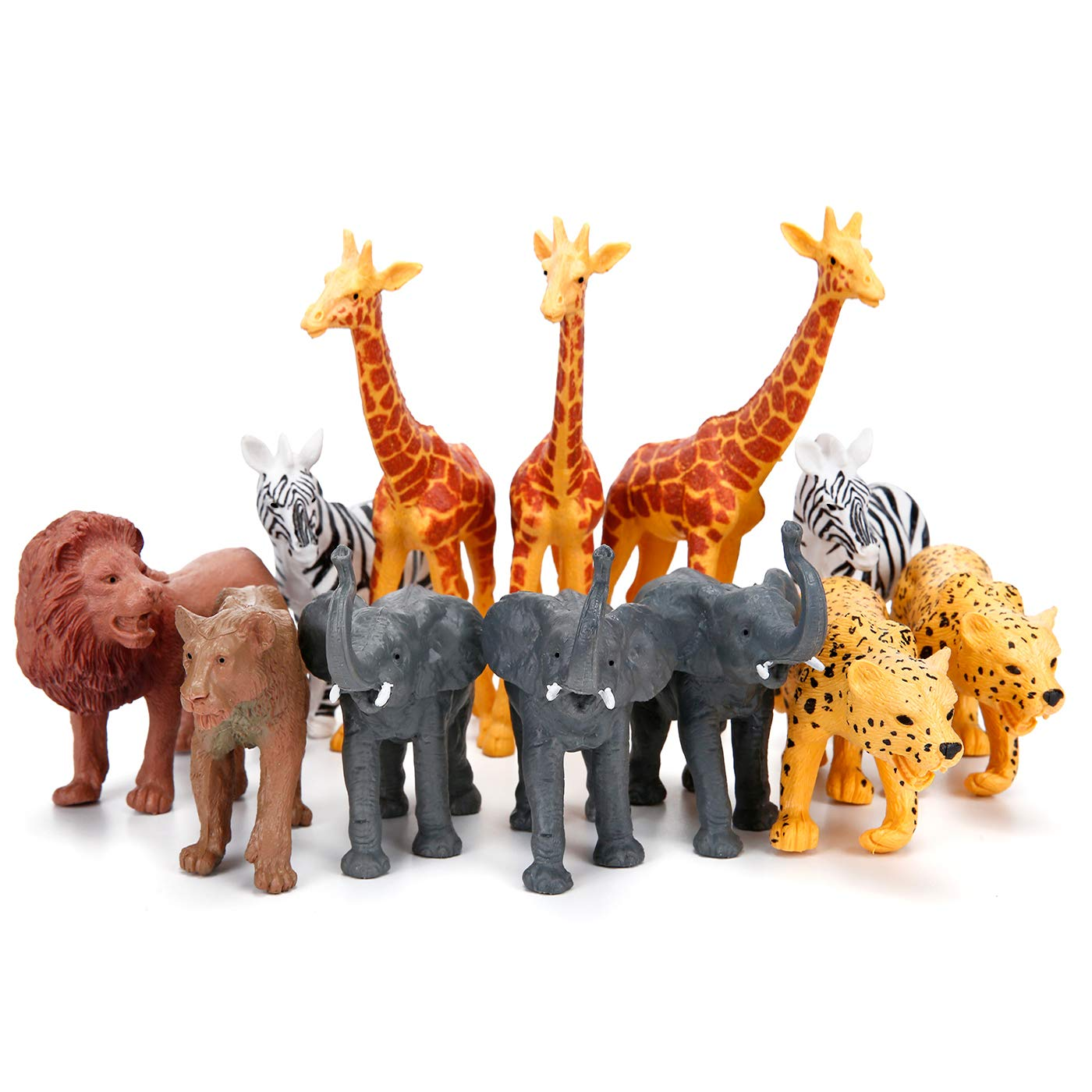 Figurines Realistic Elephant Educational Playsets