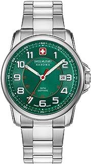 Swiss Military Hanowa - Reloj Analógico para Unisex Adultos de Cuarzo con Correa en Acero Inoxidable 06-5330.04.006