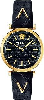 ساعة فيرزاتشي للسيدات بسوار من الجلد كاجوال - VELS00619
