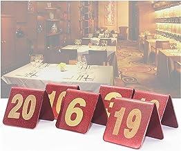 Tabel Nummerplaat, Roestvrijstalen Restaurant Plaats Nummerplaat, Geschikt Voor Bruiloft, Feest, Evenement Of Catering Dec...