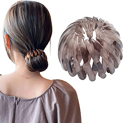 wholesale Hair Ponytail Clip Bird lowest Nest Shaped Hair Clips Hair Claw Clamps Expandable Comb Hair Clips Claw French Hair Barrettes Grip Clamps Retractable Hair discount Loops Ponytail Holder Hair Bands Hair for Women Girls outlet online sale