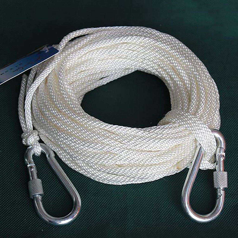 Rope Nylon Bundle Rope Outdoor Spare Rope Descending Rope Clothesline 4mm in Diameter
