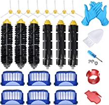 JoyBros 22-Pack Replacement Parts Compatible for iRobot Roomba Accessories 600 Series:690 670 671 680 650 630 614 595 585 Filter Side Roller Brush Vacuum Cleaner Replenishment Kit
