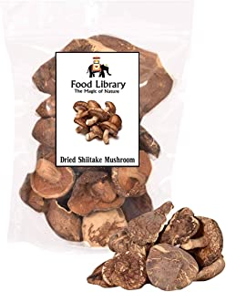 Food Library The Magic of Nature Dried Shiitake Mushrooms, 100g