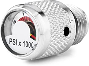 Spare Air Screw in Dial Pressure Gauge