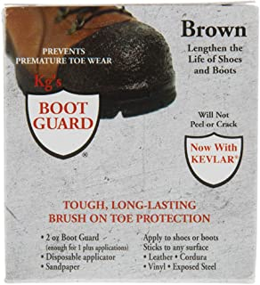 Kg's Boot Guard Brush on Toe Protection