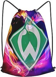 Wer-Der Brem-En Bedruckte Sporttasche Sporttasche Reisetasche Schuhtasche Rucksack Einkaufstasche Kordelzug