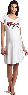 Lamaze Maternity Women's Maternity Sexy and Pregnant Sleep Shirt